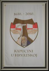 Službeni logo proslave 400 godina kapucina