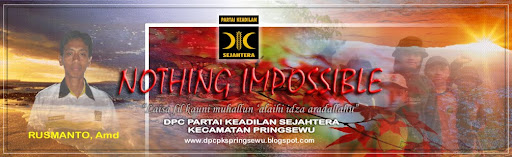 DPC PKS PRINGSEWU : Nothing Impossible