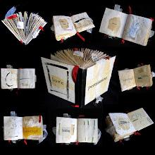 encaustic altered book