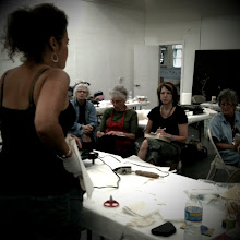 Teaching post conference workshop: Encaustic & Fiber