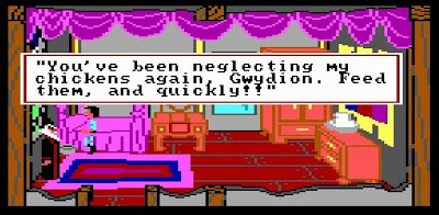 Kings Quest 3 chickens, Resigned Gamer