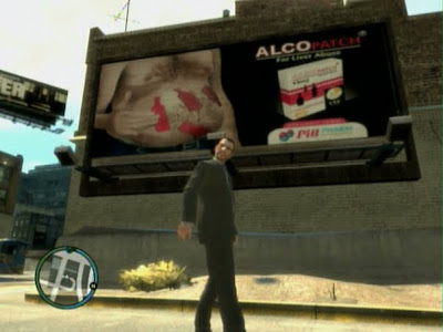 GTA IV grand theft auto billboard alcohol patch