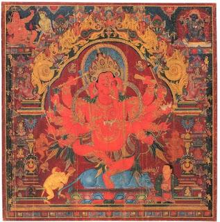 Dancing Tibetan Ganesha