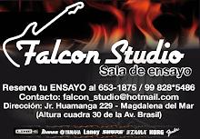 """La gorra ensaya en """"FALCON STUDIO"""""""