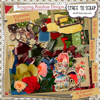 http://scrappingrainbow.blogspot.com/2009/11/victorian-elegance-freebie-day-two.html