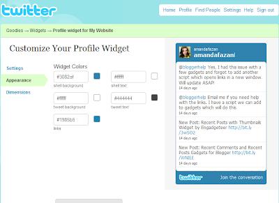 Twitter dan Blogger, Begitu Banyak Tool
