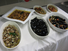 Sepia, Vongole, Cozze, Scampi, & Pannocchie
