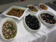 Sepia, Vongole, Cozze, Scampi, & Pannocchie