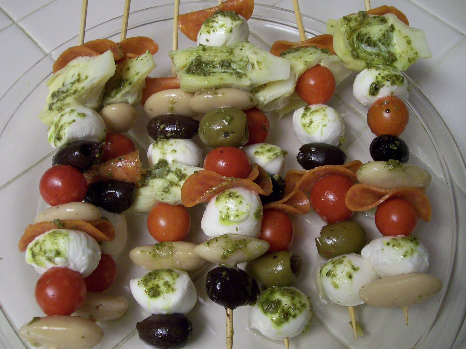 Shelly's Antipasto Skewers