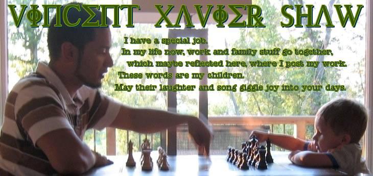 Vincent Xavier Shaw's Weblog