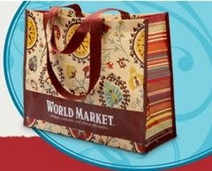 medium worldmrk Free Reusable Bag at Cost Plus World Market