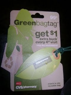 "CVS: New ""Green Bag Tag"" Card!"