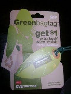"CVS: New ""Green Bag Tag""Card!"