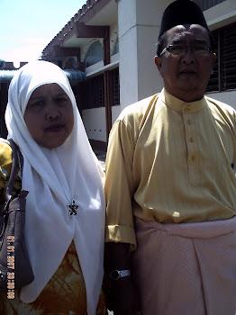 My beloved parents...