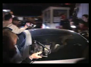 Paparazzi crowd the car of Britney Spears as it enters a studio - Photo courtesy of kickinitwithkelsey