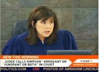 Las Vegas Judge Jackie Glass called O.J. Simpson arrogant, ignorant or both