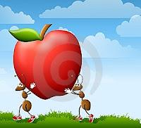 buah apel cerita humor