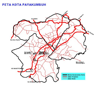 Payakumbuh Travel Maps