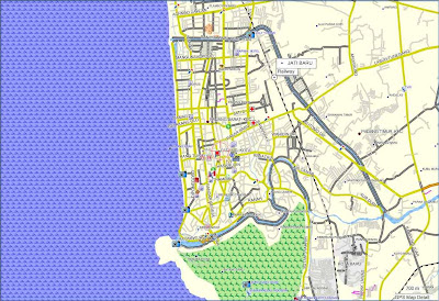 Padang City Travel Maps