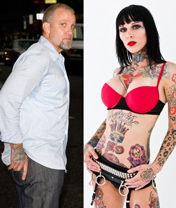 collide with the orgies he had with he´s tattoo girlfriends, porn stars