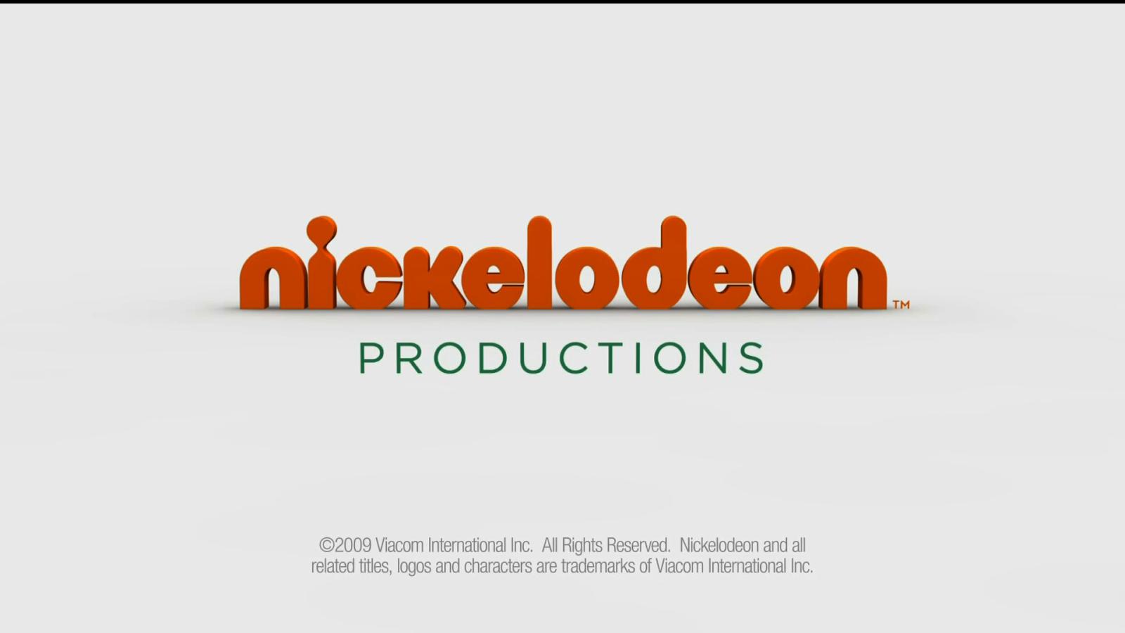 Nick Jr Productions Logo Nickelodeon productions logo