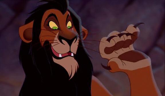"""""""El Rey León"""" : Scar Scar-The-Lion-King"""