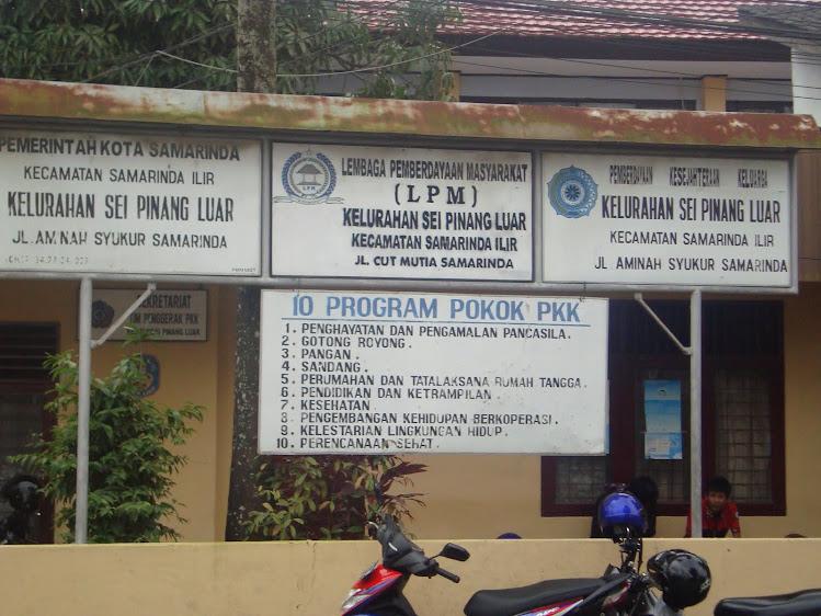 Kelurahan Sungai Pinang Luar Kota Samarinda