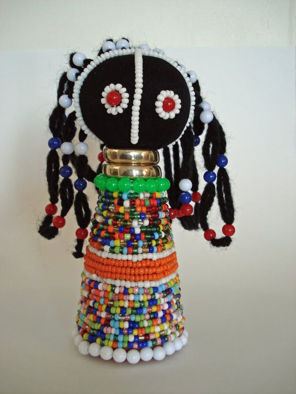 We heart art ndebele dolls for Four man rubber life craft