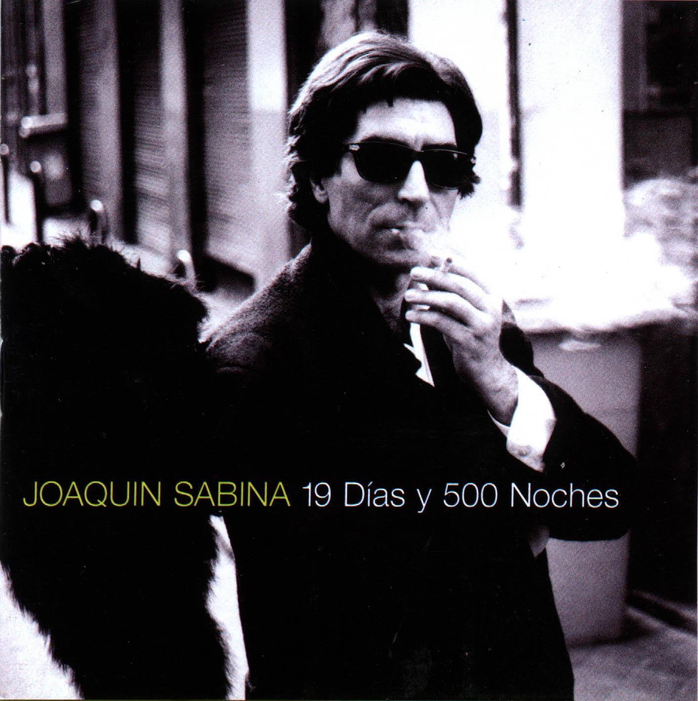 Los discos esenciales del pop español - Página 5 Joaquin_Sabina-19_Dias_y_500_Noches-Frontal