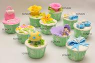 Cupcakes - Fondant Deco