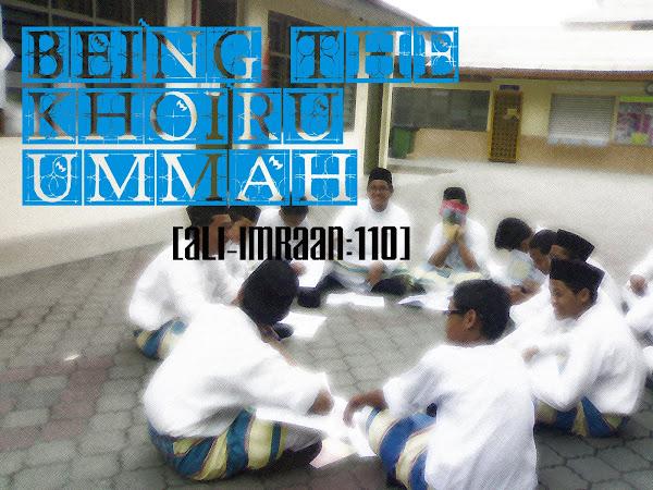 BeingTheKhoiruUmmah