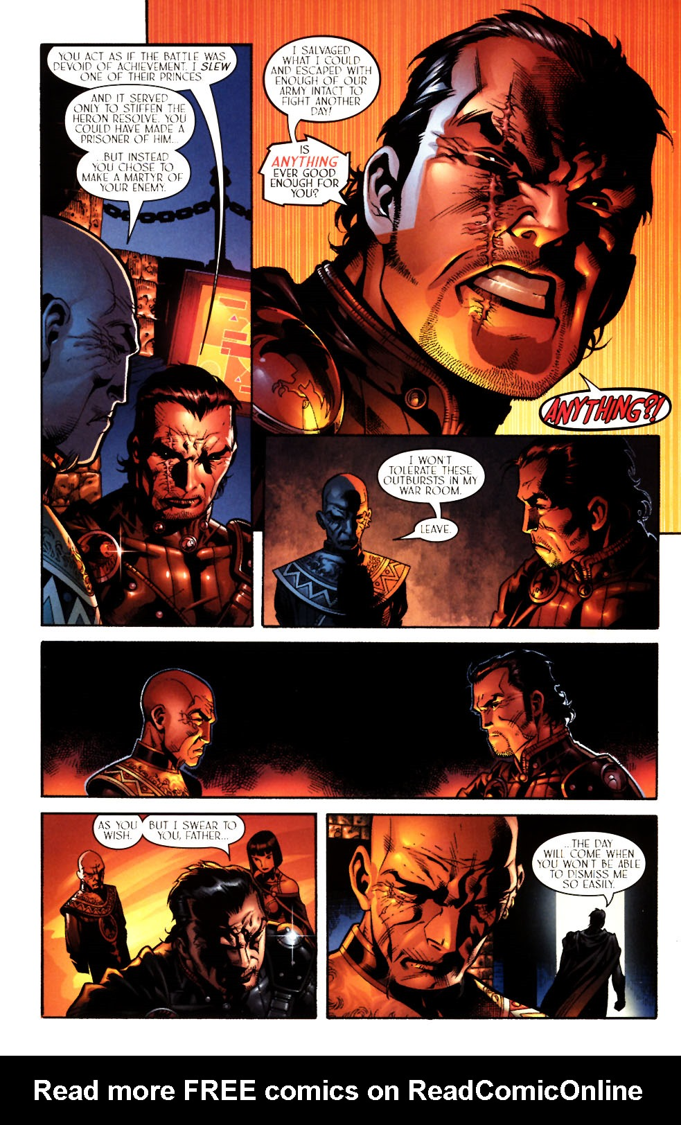 Read online Scion comic -  Issue #11 - 10