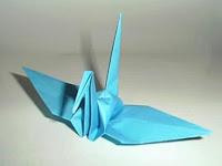 origami bangau