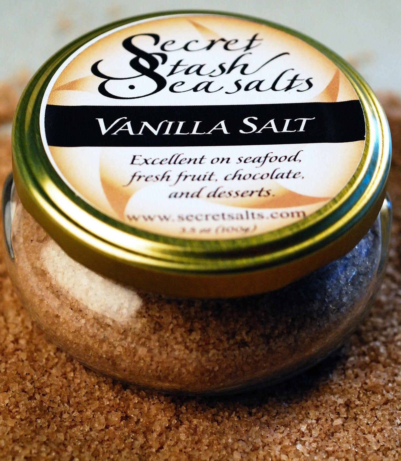 Secret Stash Sea Salts: vanilla salt