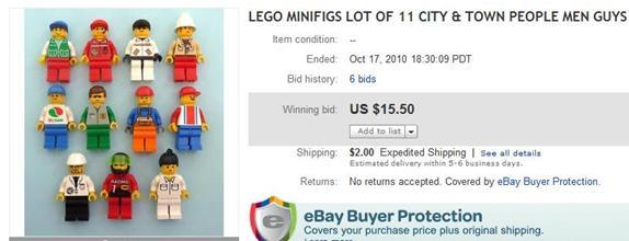 eBay Selling Coach: Make Money Selling Used Lego Minifigs on eBay