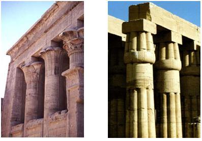 Arquitectura egipcia historia del arte for Arquitectura egipcia