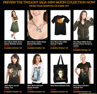 Hot Topic Twilight Articles