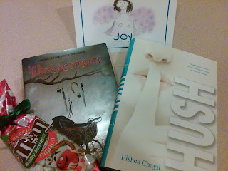 Photo: Book Blogger Holiday Swap goodies