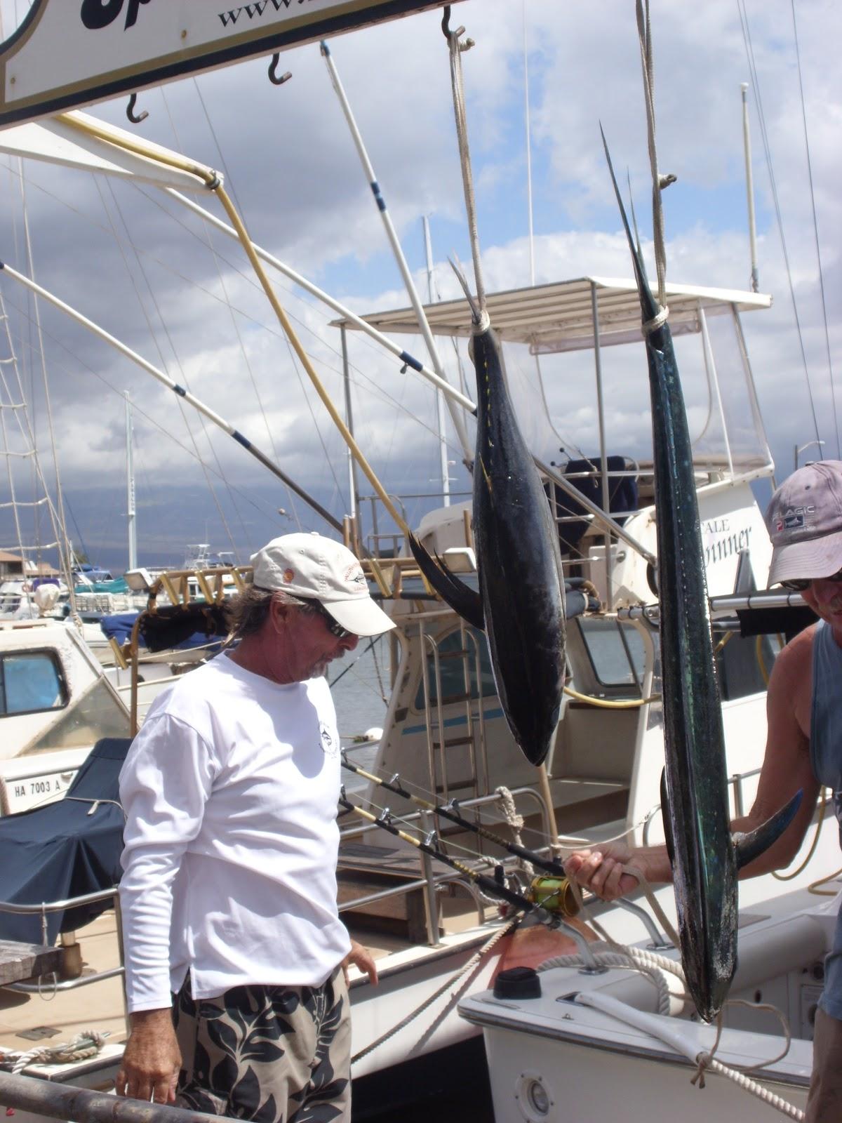 Maui sport fishing rascal fishing charters for Maui sport fishing