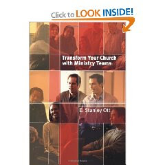 Stanley Ott's Team Ministry Book