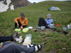 A meal in the wilderness