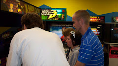 X-Men video game with Josh, Adam, Brooke and Rob
