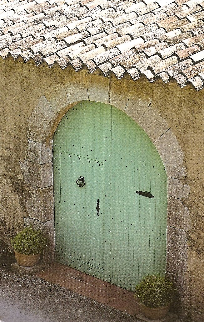 french country front doorDcor de Provence French Country Details