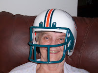 Grandma, the football fan!