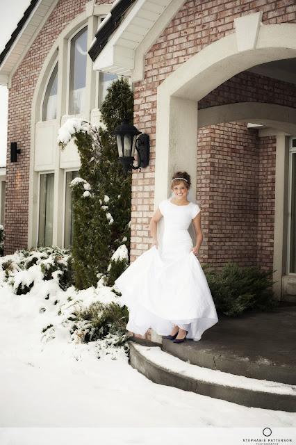 JennaBridals Blog14 Jenna ~ Winter Bridals ~ Idaho Wedding Photoraphy