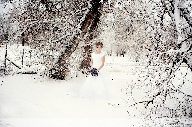 JennaBridals Blog28 Jenna ~ Winter Bridals ~ Idaho Wedding Photoraphy
