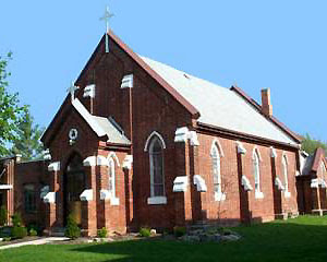 St Stephen's, Thamesville, Ontario