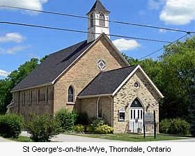 St. George's-on-the-Wye, Thorndale, Ontario