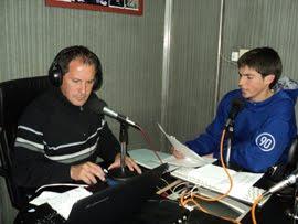 RODRIGO MORINIGO Y PELU EN LA FM 105.5 INOLVIDABLE
