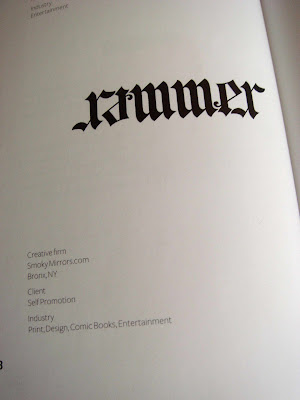 Rammer ambigram in Really Good Logos Explained